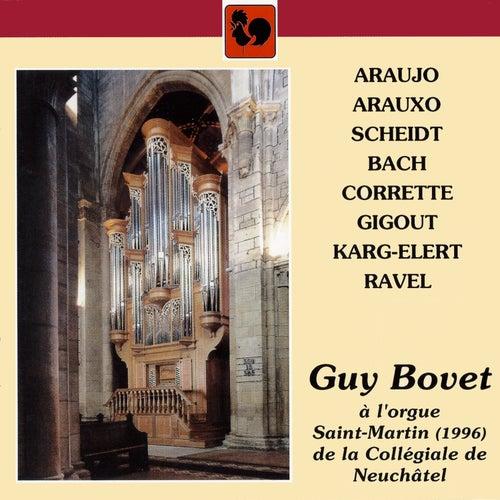 Guy Bovet à l'orgue Saint-Martin de la Collégiale de Neuchâtel by Guy Bovet