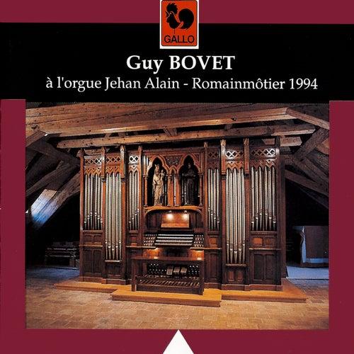 Guy Bovet à l'orgue Jehan Alain de Romainmôtier by Guy Bovet