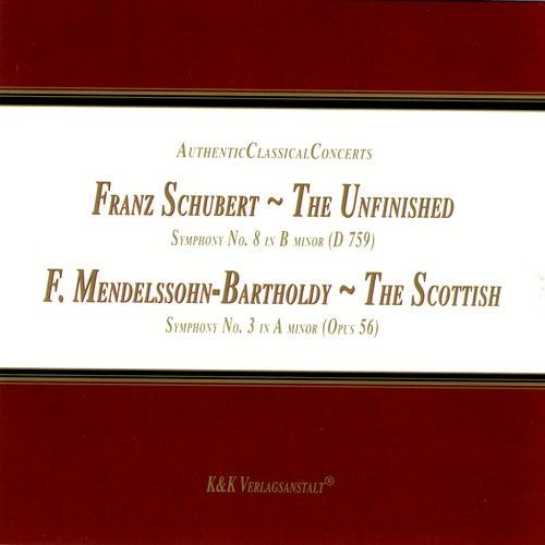 Schubert: The Unfinished / Mendelssohn-Bartholdy: The Scottish by New Symphony Orchestra Sofia & Petko Dimitrov