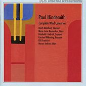Hindemith: Complete Wind Concertos by Various Artists
