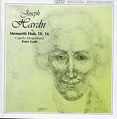 Haydn: Menuetti, Hob.IX:16 von Capella Istropolitana