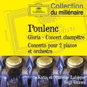 Poulenc - Gloria, Concert champêtre, Concerto pour 2 pianos et orchestre de Various Artists