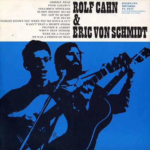 Rolf Cahn And Eric Von Schmidt by Eric von Schmidt