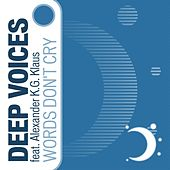Words Don't Cry (feat. Alexander K.G. Klaus) by Deepvoices
