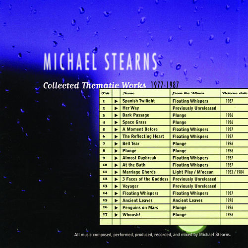 Collected Thematic Works: 1977-1987 by Michael Stearns