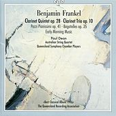 Frankel, B.: Clarinet works von Paul Dean