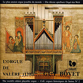 Guy Bovet à l'orgue de la Basilique de Valère (1390), The world's oldest playable organ by Guy Bovet