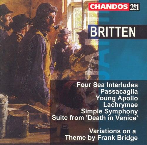 Britten:  Sea Interludes, Op. 33; Passacaglia; Young Apollo; Death In Venice Suite; Simple Symphony; Others by Benjamin Britten
