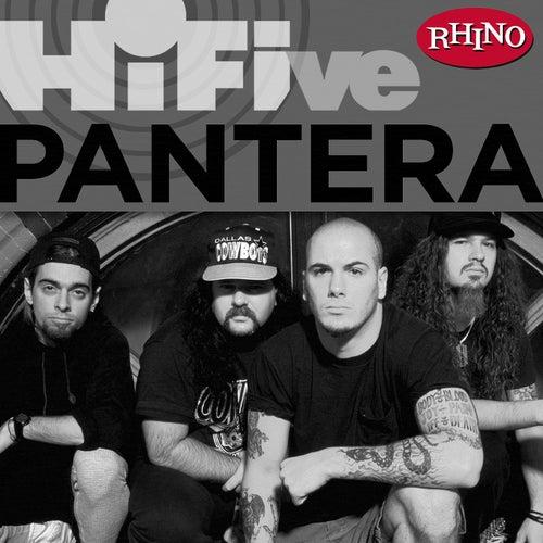 Rhino Hi-Five: Pantera by Pantera