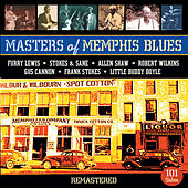 Masters of Memphis Blues by Various Artists