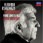Rachmaninov: Piano Sonata No.1 / Chopin Variations de Vladimir Ashkenazy
