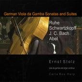 German Viola da Gamba Sonatas and Suites by Ernst Stolz