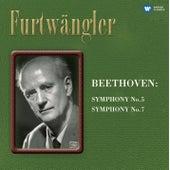 Beethoven: Symphonies Nos. 5 & 7 by Wilhelm Furtwängler
