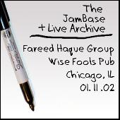 01-11-02 - Wise Fools Pub - Chicago, IL by Fareed Haque Group