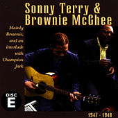 Sonny Terry & Brownie McGhee, Vol. E (1938-1941) by Sonny Terry & Brownie McGee