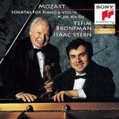 Mozart: Sonatas for Violin and Piano, K. 454, 296 & 526 by Isaac Stern