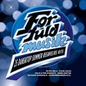 For Fuld Musik  - 25 Danske Sommer Regnvejrs Hits by Various Artists