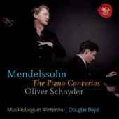 Mendelssohn: Piano Concertos by Oliver Schnyder