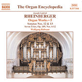 RHEINBERGER: Works for Organ, Vol.  5 de Wolfgang Rubsam