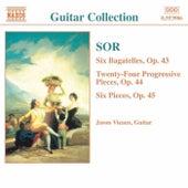SOR: 6 Bagatelles, Op. 43 / Progressive Pieces, Op. 44 de Jason Vieaux