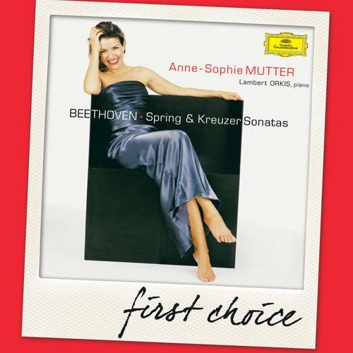 Beethoven: Spring & Kreutzer Sonatas by Anne-Sophie Mutter