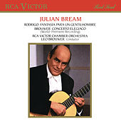 Brouwer: Guitar Concerto No. 3 - Rodrigo: Fantasía para un gentilhombre by Julian Bream