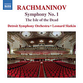 Rachmaninoff: The Isle of the Dead & Symphony No. 1 von Detroit Symphony Orchestra