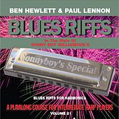 Blues Riffs for Harmonica, Vol. 21: Playalong Course for Intermediate Harp Players by Ben Hewlett
