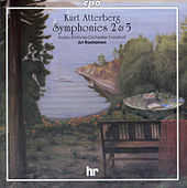 Atterberg: Symphonies Nos. 2 & 5 by Frankfurt Radio Symphony Orchestra