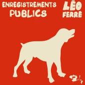 Enregistrements Publics (CD 20 / 21) de Leo Ferre