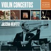 Jascha Heifetz Violin Concertos - Original Album Classics de Jascha Heifetz