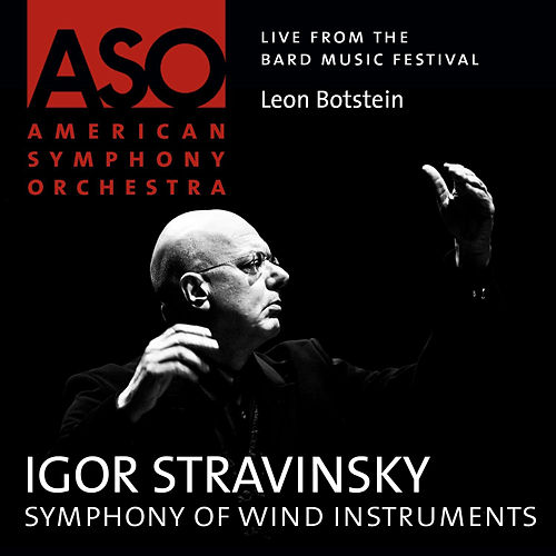 Stravinsky: Symphonies of Wind Instruments by American Symphony Orchestra
