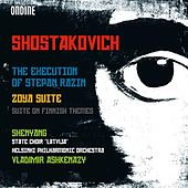 Shostakovich: The Execution of Stepan Razin, Zoya Suite & Suite on Finnish Themes de Various Artists