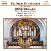 Organ Works, Volume 4 de Joseph Gabriel Rheinberger