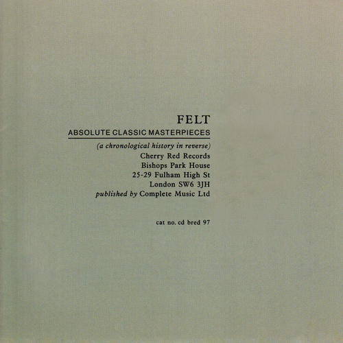 Absolute Classic Master Pieces by Felt