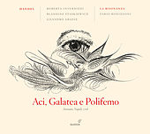 Handel: Aci, Galatea e Polifemo by Roberta Invernizzi