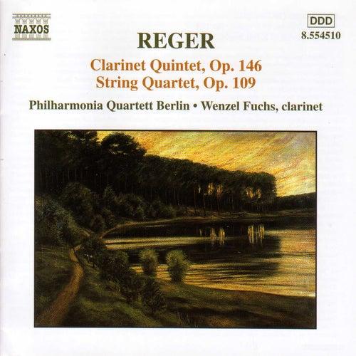 Clarinet Quintet / String Quartet Op. 109 by Max Reger