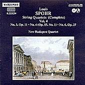 String Quartets Vol. 4 by Louis Spohr