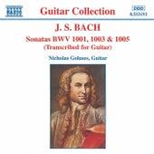 Sonatas For Guitar by Johann Sebastian Bach