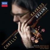 Brahms: Violin Concerto; Hungarian Dances;  Bartók: Rhapsodies di Leonidas Kavakos
