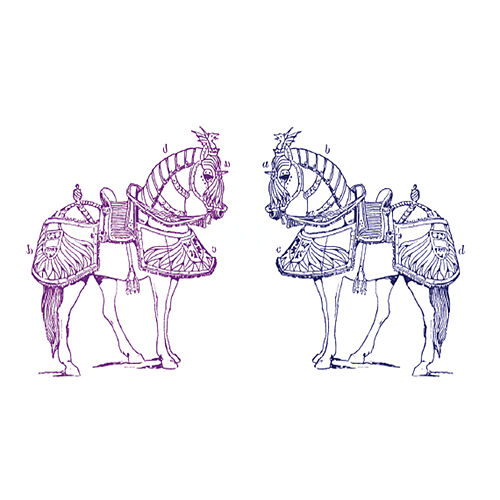 Two Horses by The Heavy Pets
