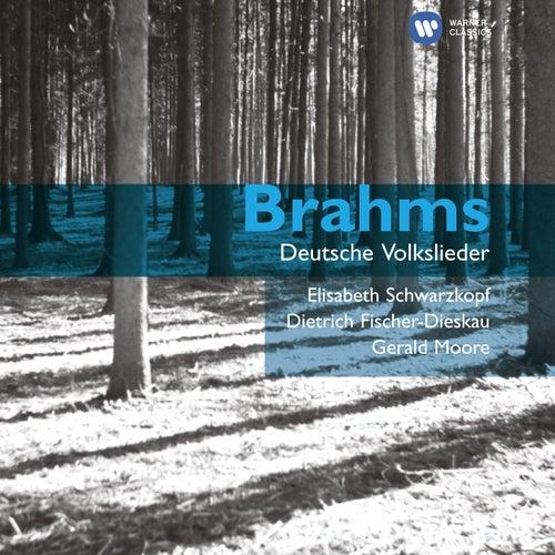 Brahms: Deutsche Volkslieder by Elisabeth Schwarzkopf