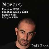 Mozart Fantasy K. 397, Sonatas K. 282 & K. 332, Rondo K. 485 and Adagio K. 540 di Phil Best