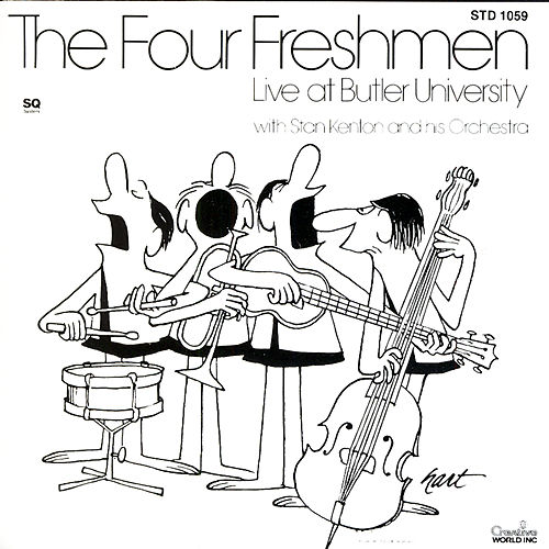 The Four Freshmen - Live At Butler University by Benny Goodman