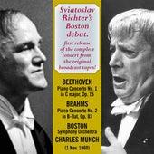 Sviatoslav Richter's Boston Debut von Various Artists