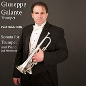 Paul Hindemith: Sonata for Trumpet and Piano: II. Massig Bewegt by Giuseppe Galante
