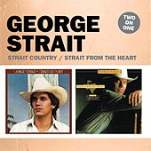 Two On One: Strait Country / Strait from the Heart de George Strait