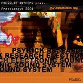 Presslab Anthems Pres. Presslaboys 2001 by Various Artists