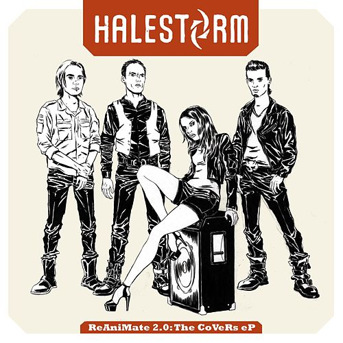 ReAniMate 2.0: The CoVeRs eP by Halestorm