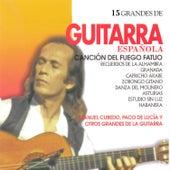15 Grandes de Guitarra de Various Artists